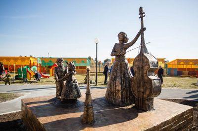 Лянтор. Открытие памятника