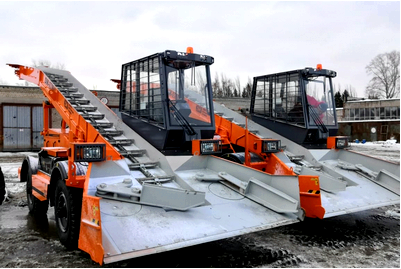 Российские регионы закупили снегоуборочную технику