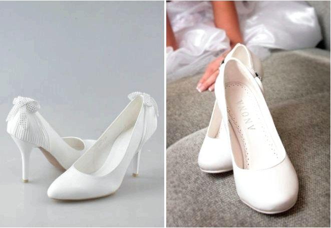 Как выбрать удобные свадебные туфли