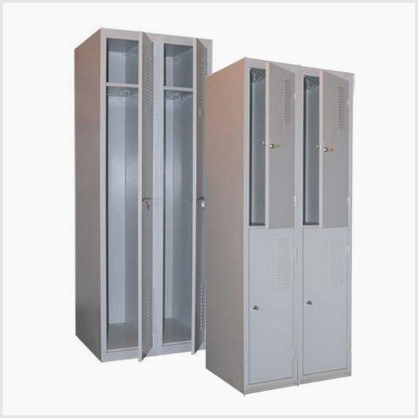 Гардеробные металлические шкафы