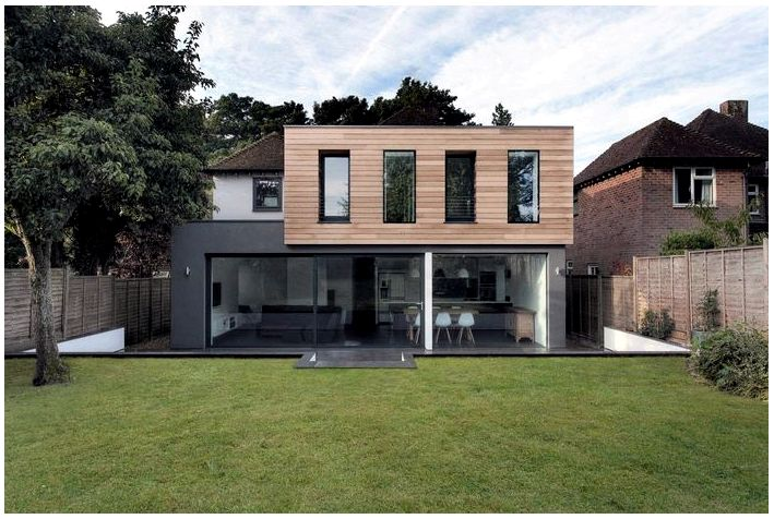 Маленькие идеи дизайна Современный дизайн экстерьера дома