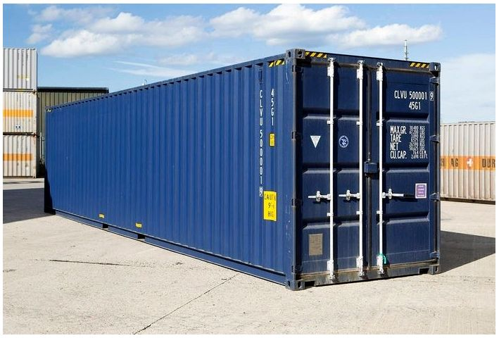 Морские контейнеры — применение