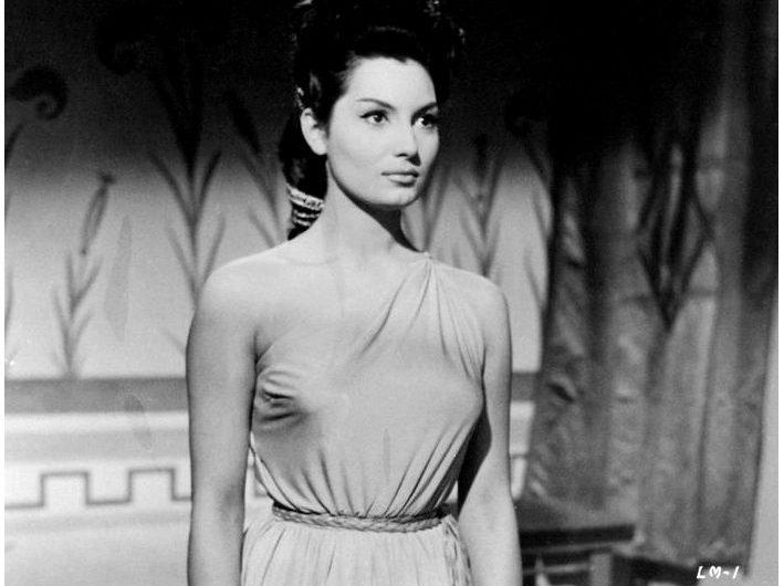 Шикарная Эльза Мартинелли – итальянская актриса и модель (1950-60-х годов)